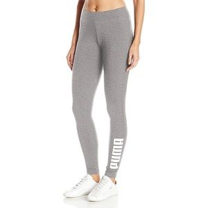 New Puma Grey workout leggings